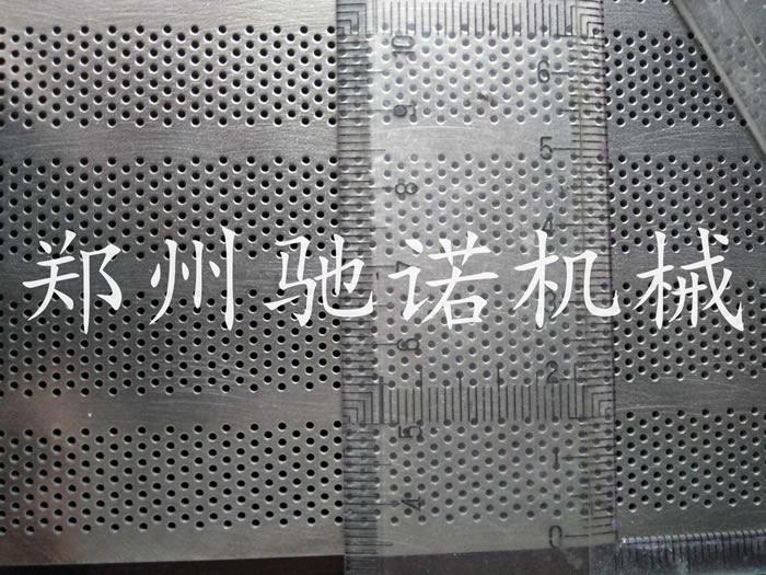 孔径1mm板厚4mm材质316L不锈钢筛板、孔板、网板、网皮
