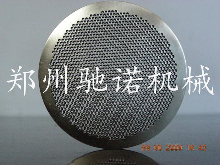 孔径0.8mm厚度2mm材质316L不锈钢挤出孔板